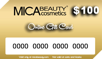 $15 Off Mica Beauty Gift Card $100