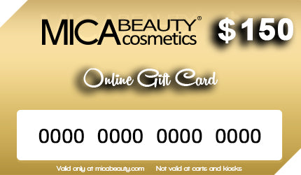 Mica Beauty Gift Card $150