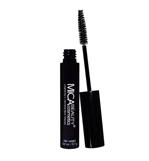 Lengthening & Volumizing Black Mascara