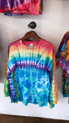 Rainbow Sleeve Long Sleeve Tee