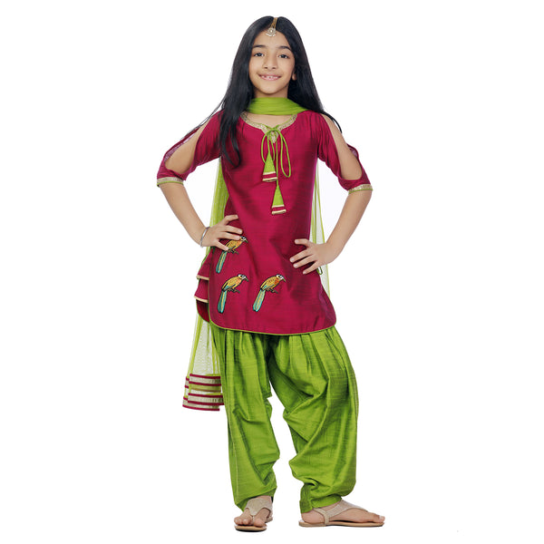 Patiala Flutter Suit Set