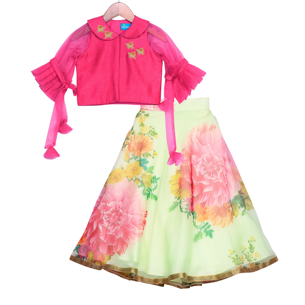 Gardenia Bloom Lehenga Set