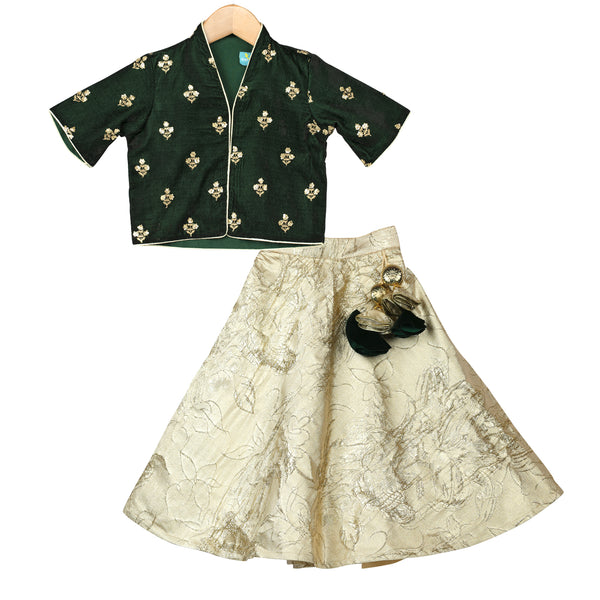 Forest Fairy Lehenga Set