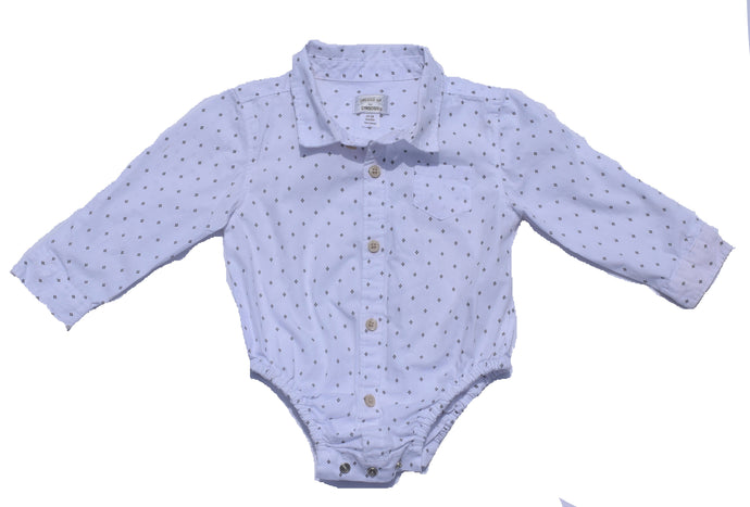 Gymboree button down onsie 12-18 Months