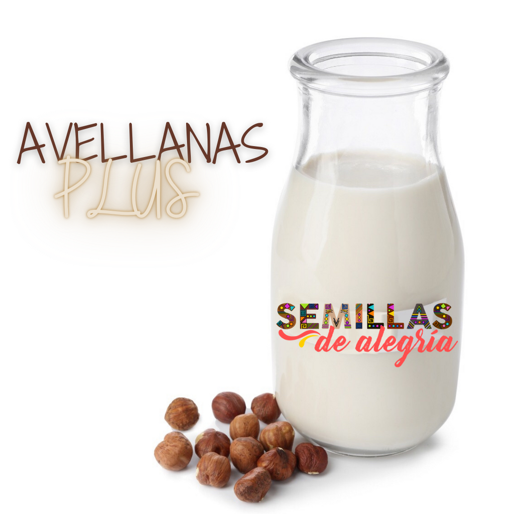 Leche de Avellanas Plus