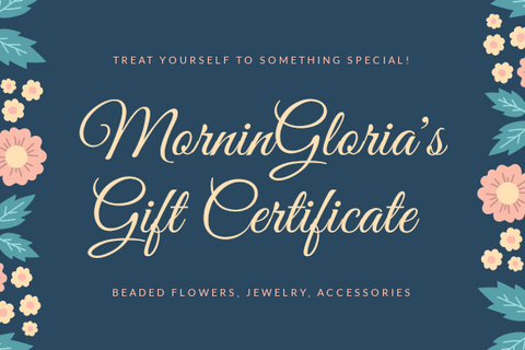 MorninGloria's Gift Certificate