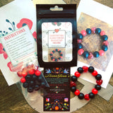 Valentine's Day Beaded Stretch Bracelet Kit for Kids