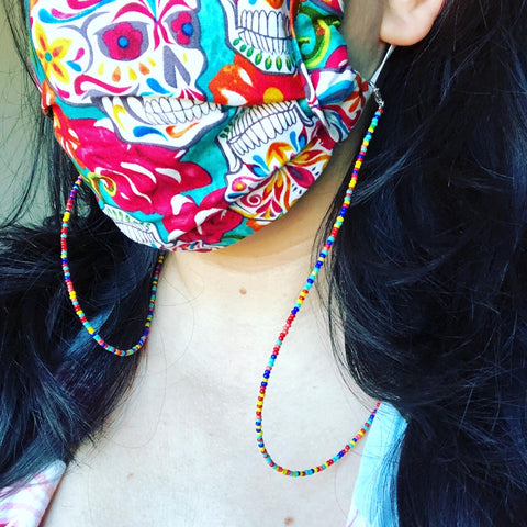 Beaded Mask Chain Lanyard