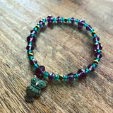 Emerald Critters Beaded Stretch Bracelet Kit