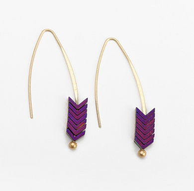 Bohemian Hook Arrow Earrings - Chloe's Jewelry Box