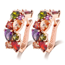 Trendy Color Crystal Jewelry Set - Chloe's Jewelry Box