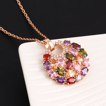 Statement Round Pendant Necklace - Chloe's Jewelry Box