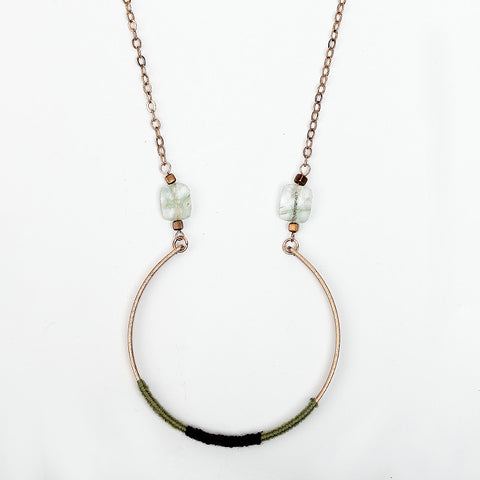 Stunning Handmade Chain Loop Necklace - Chloe's Jewelry Box