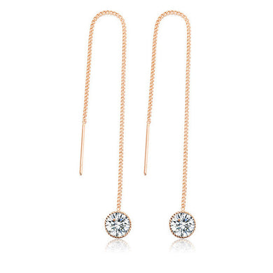 Crystal Water Drop Earrings - Chloe's Jewelry Box