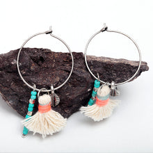Fun Big Circle Thread Earring - Chloe's Jewelry Box