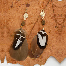 Feather Indiana Earrings - Chloe's Jewelry Box
