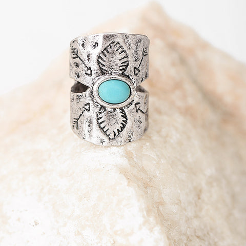 Bohemian Silver Midi Ring - Chloe's Jewelry Box