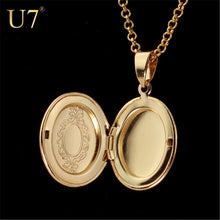 Oval Photo Locket Vintage Necklace - Chloe's Jewelry Box