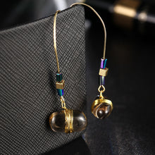 Bohemian Stone Drop Earrings - Chloe's Jewelry Box