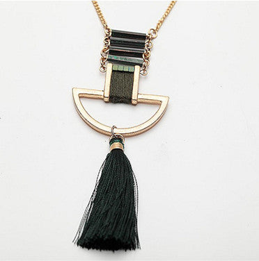 Future Style Tassel Necklace - Chloe's Jewelry Box