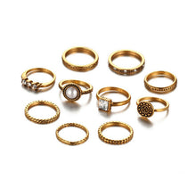 Tibetan Mix Ring Sets - Chloe's Jewelry Box
