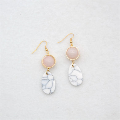 Lady High Tea Earrings - Chloe's Jewelry Box