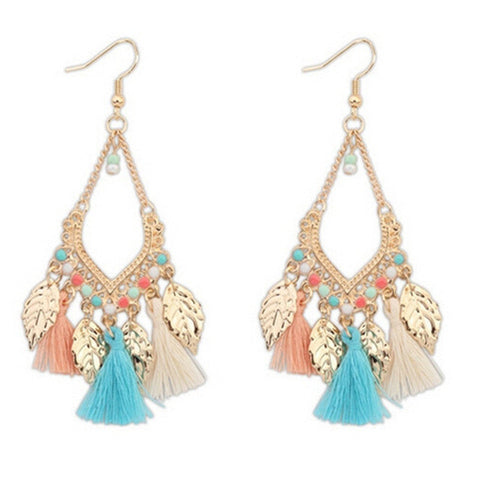 Fashion Tassel Personality Earrings - Chloe's Jewelry Box