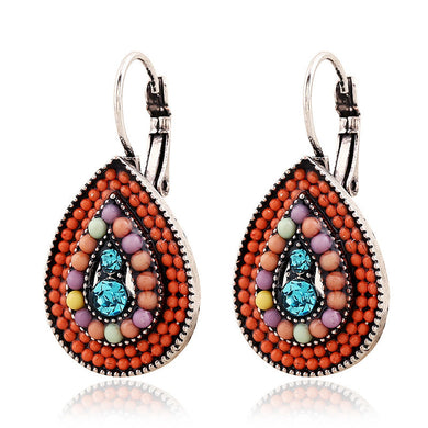 3 Colors Wild Colorful Beads Earrings - Chloe's Jewelry Box