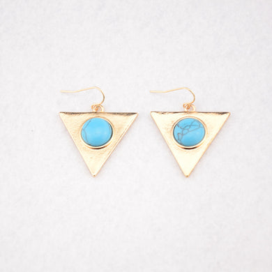 Triangle Contemporary Earrings - Chloe's Jewelry Box