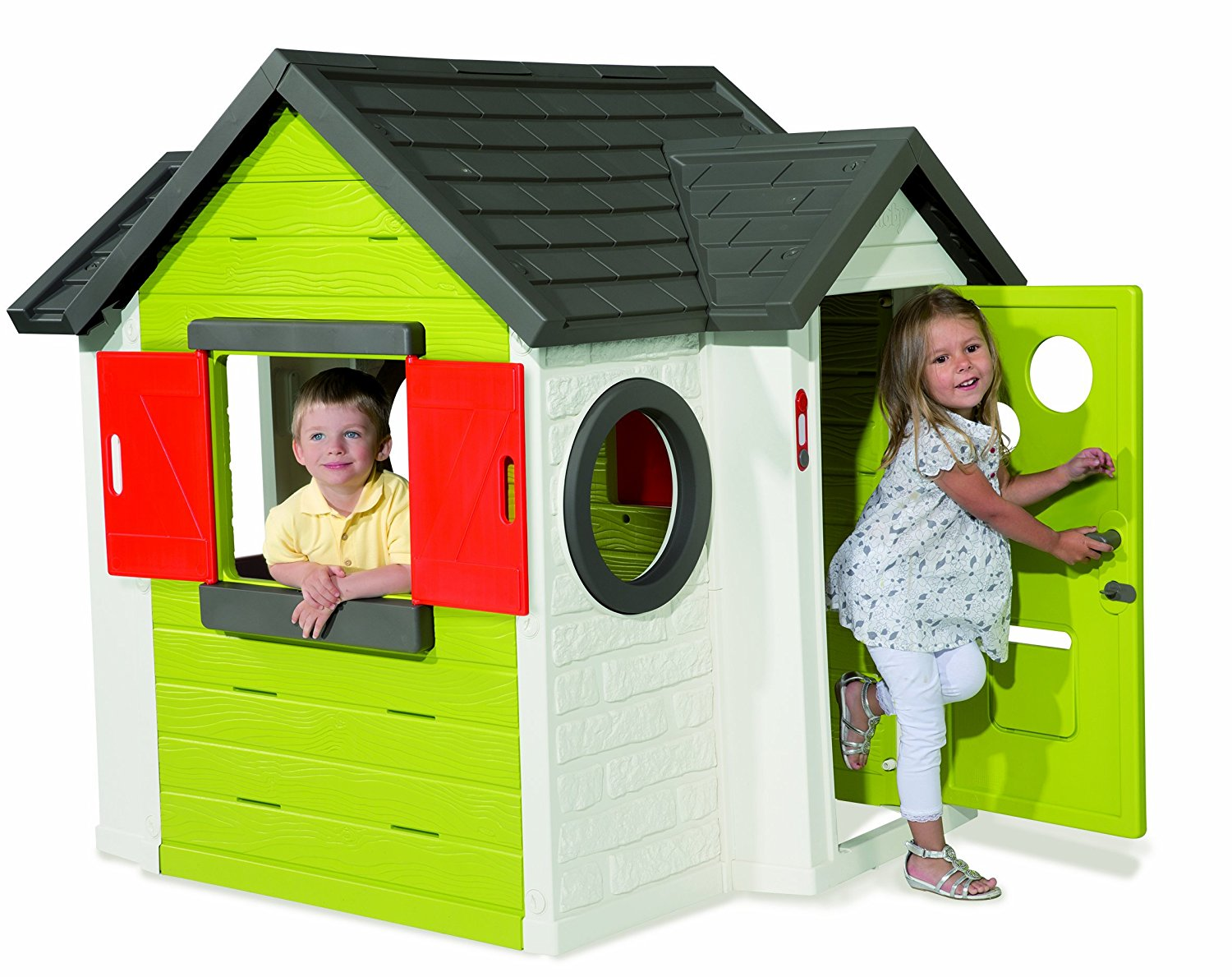 Children's playhouse Children's garden house Children's playhouse Children's playhouse Playhouse wood including roofing felt and floor