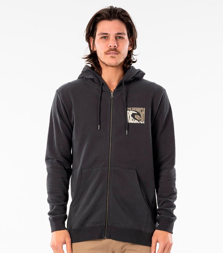 Rip Curl Icon Cut Out Zip Fleece