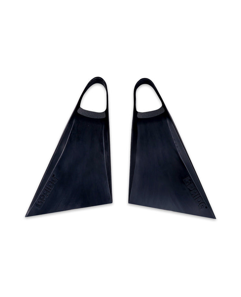 The Vulcan V3 All Black Limited Edition Bodyboard Swimfins
