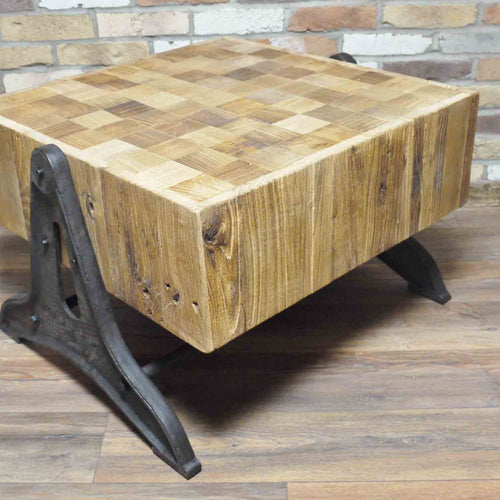 Imola elmwood coffee table right