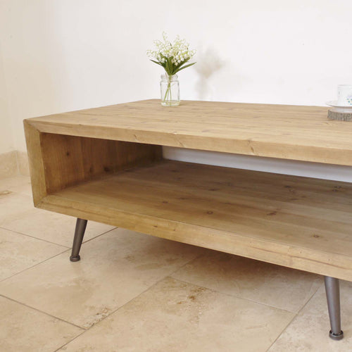 Trapani open sides coffee table left side