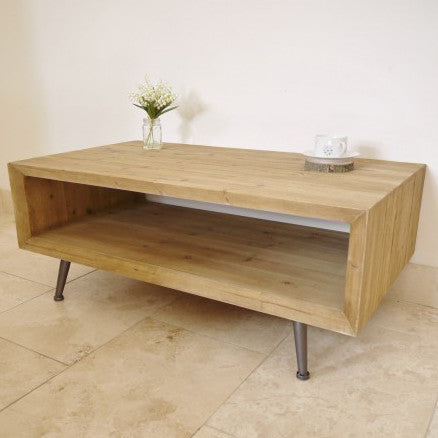 Trapani open sides coffee table full view