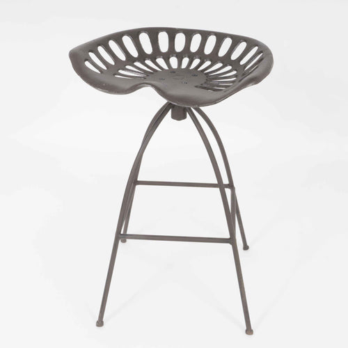 Avellino industrial tractor stool side view