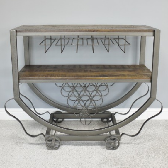Pasolini industrial wine trolley