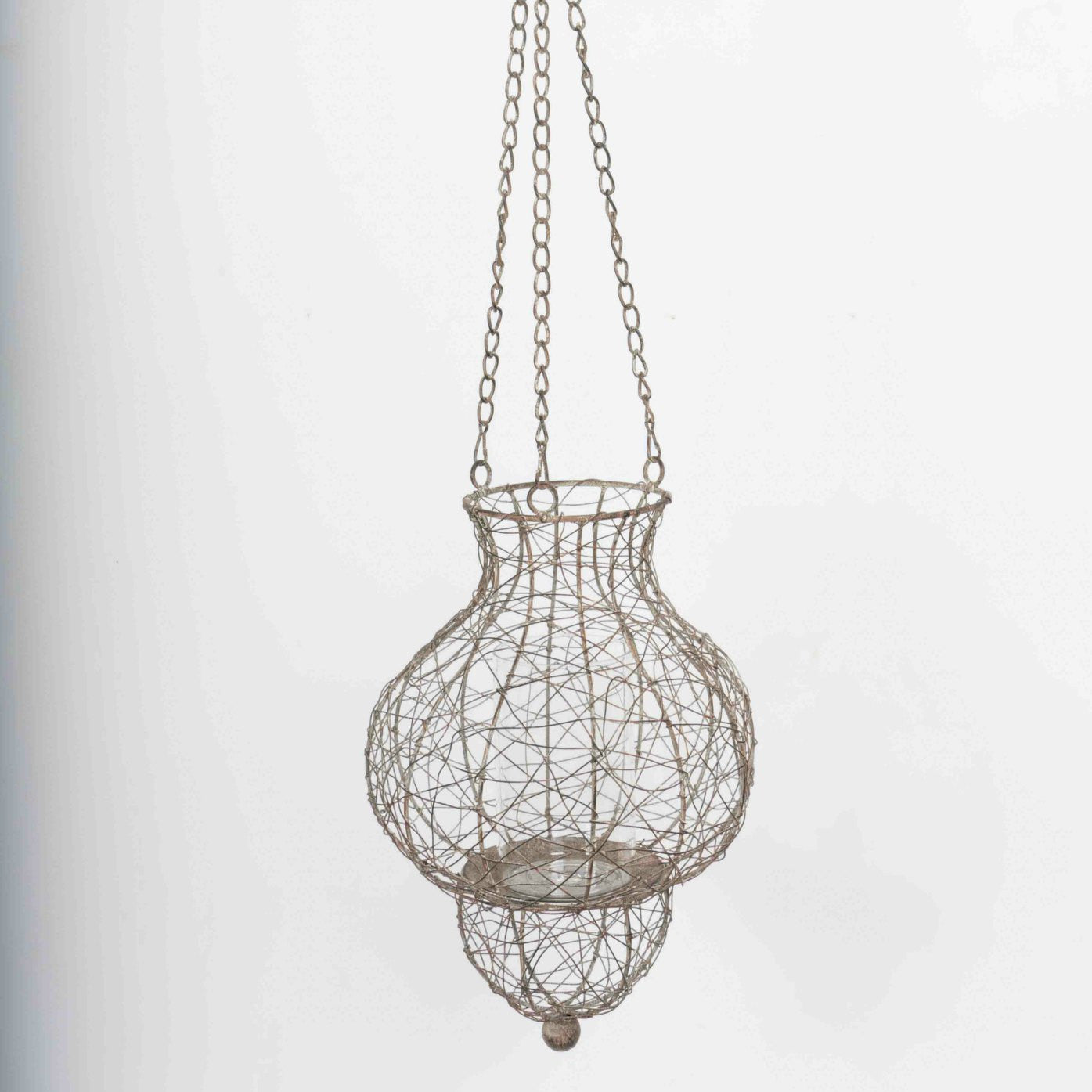 Modica outdoor decorative hanging lantern full view