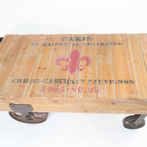 Potenza railway coffee table