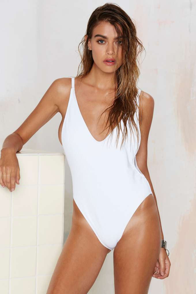 Nasty Gal Alina One Piece Swimsuit