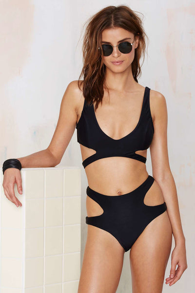 Nasty Gal Water Baby Bikini Set