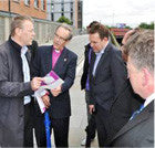 Bishop of Manchester visits Ancoats