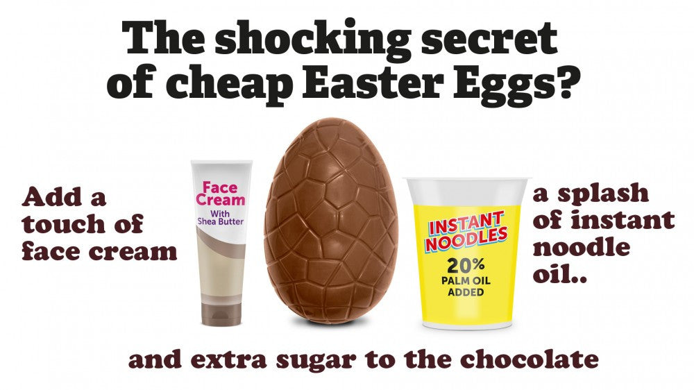 The secret of cheap Easter Eggs