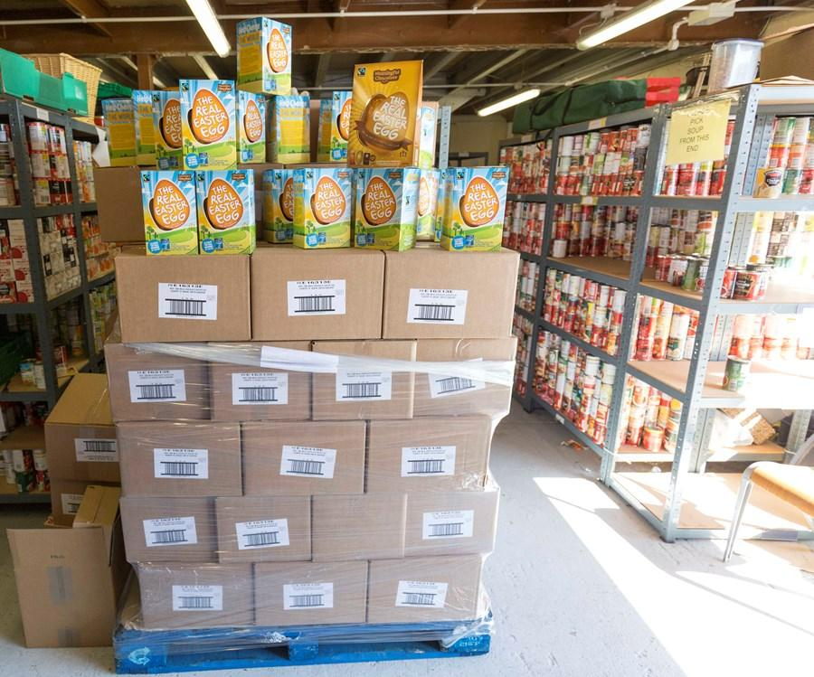 Sponsor a pallet of eggs for a food bank