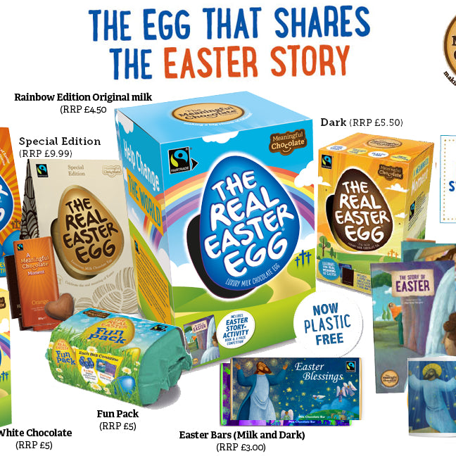2021 Real Easter Eggs - let's share the Easter story like never before