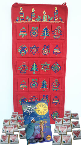 Real Advent Calendar Reusable Edition