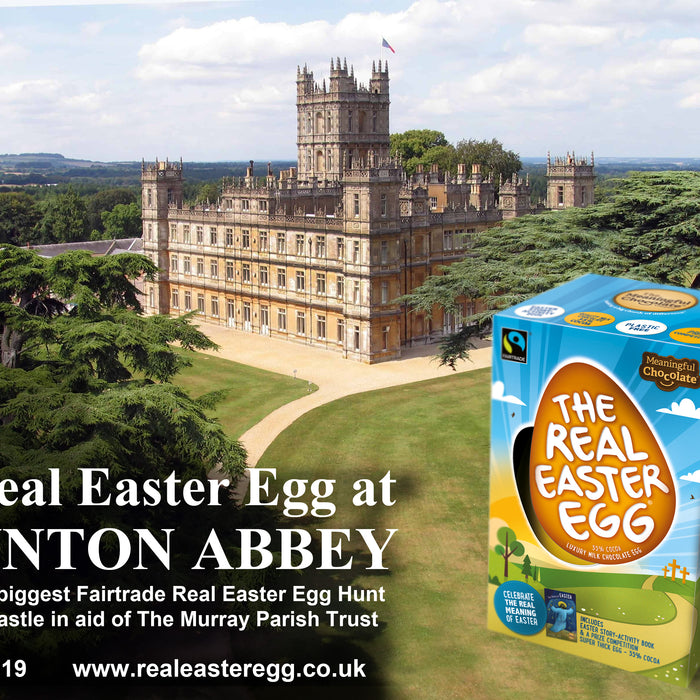 Real Easter Egg at 'Downton Abbey'