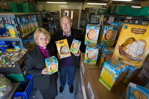 Distribution of 700 food bank eggs begins