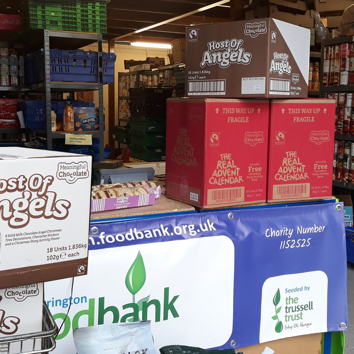 Hundreds of donations to food banks