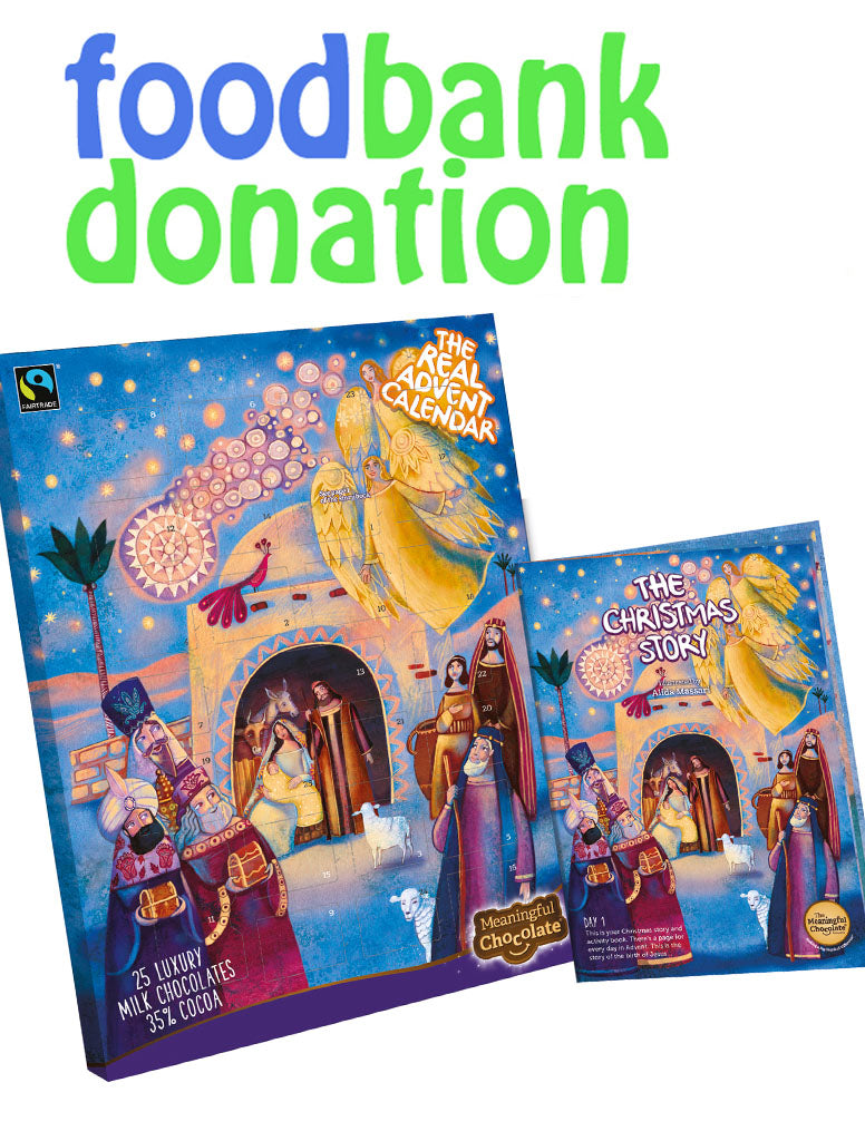 Donate a Real Advent Calendar to a Food Bank